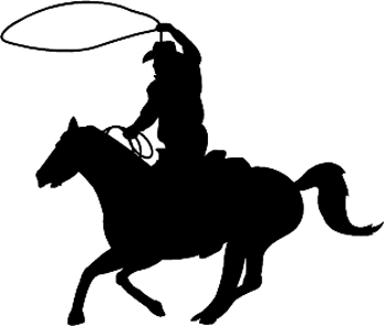 Roping Clipart.