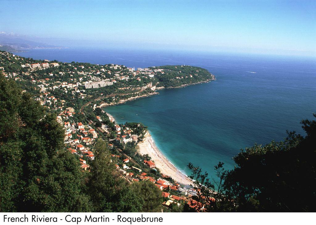 Roquebrune cap martin clipart #11