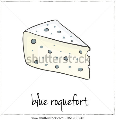 Roquefort Isolated Stock Photos, Royalty.