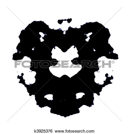 Stock Illustration of Rorschach k3925376.