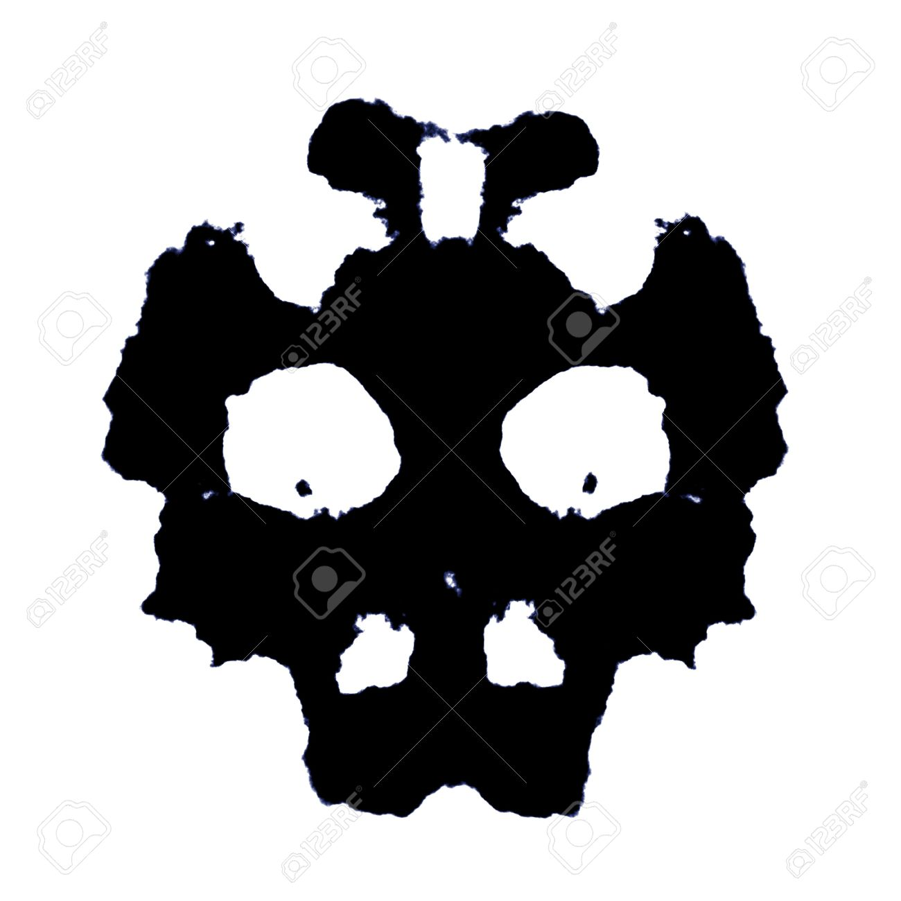 Rorschach test clipart clipground - Test di rorschach tavola 1 ...