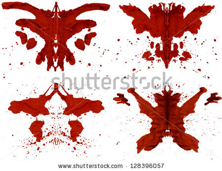 Rorschach Test Stock Photos, Royalty.