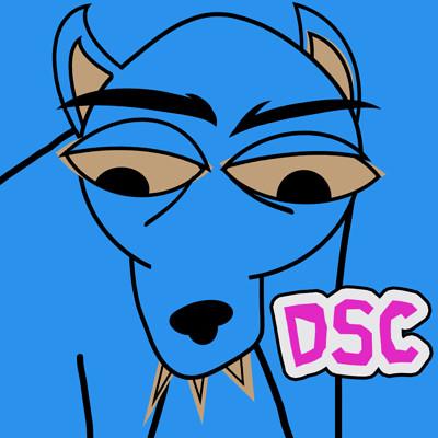 Blue dog nose clipart.