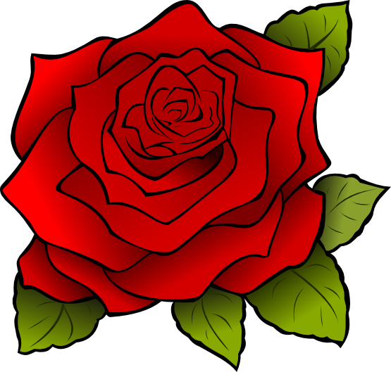 The roses clipart #3
