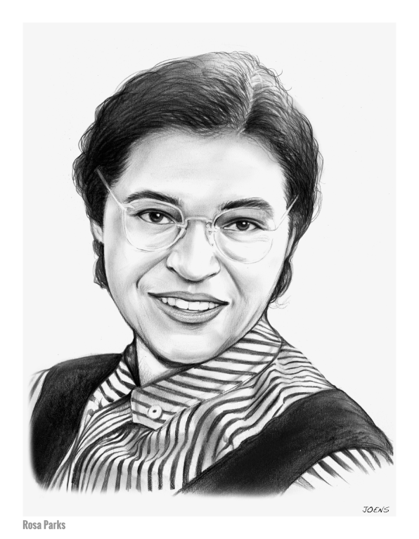 Download Free png Sketch of the Day: Rosa Parks.
