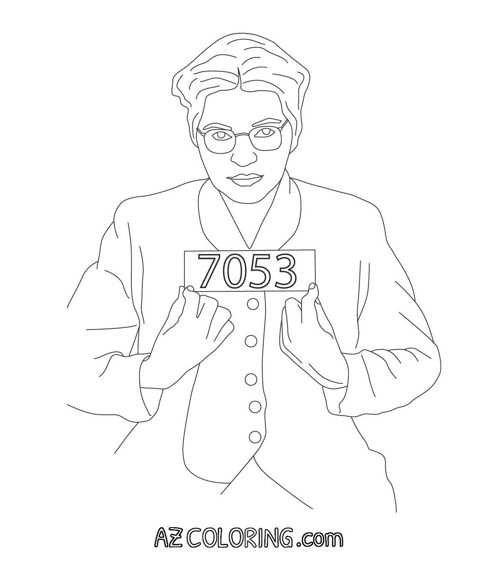 Free Rosa Parks Coloring Pages, Download Free Clip Art, Free.