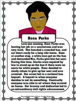 25+ best ideas about Who Was Rosa Parks on Pinterest.