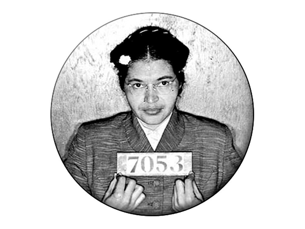 Rosa Parks Magnet Rosa Parks Prisoner 7053 Arrest Photo.