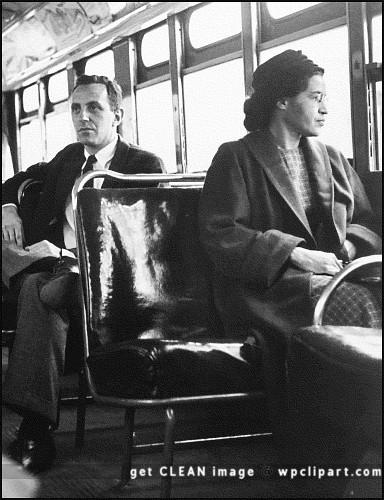 Rosa Parks 1956.