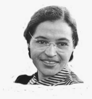 Free Rosa Parks Clip Art with No Background.