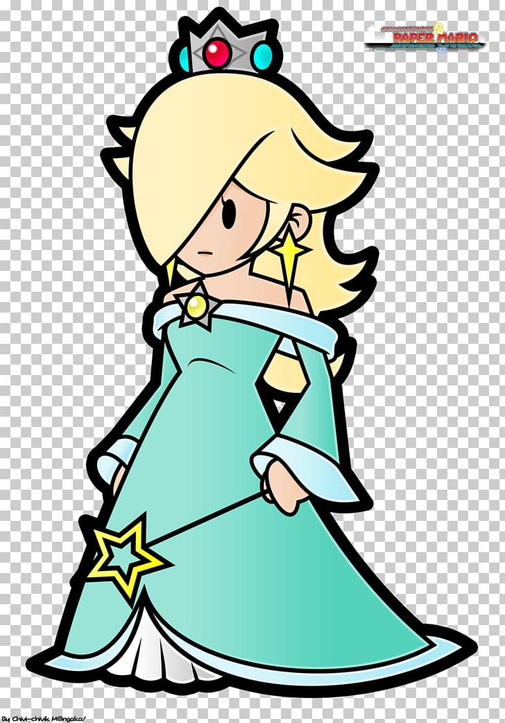 Super Mario Galaxy Paper Mario: Sticker Star Rosalina.