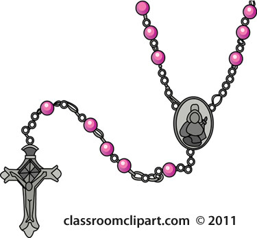 Rosary clipart images.