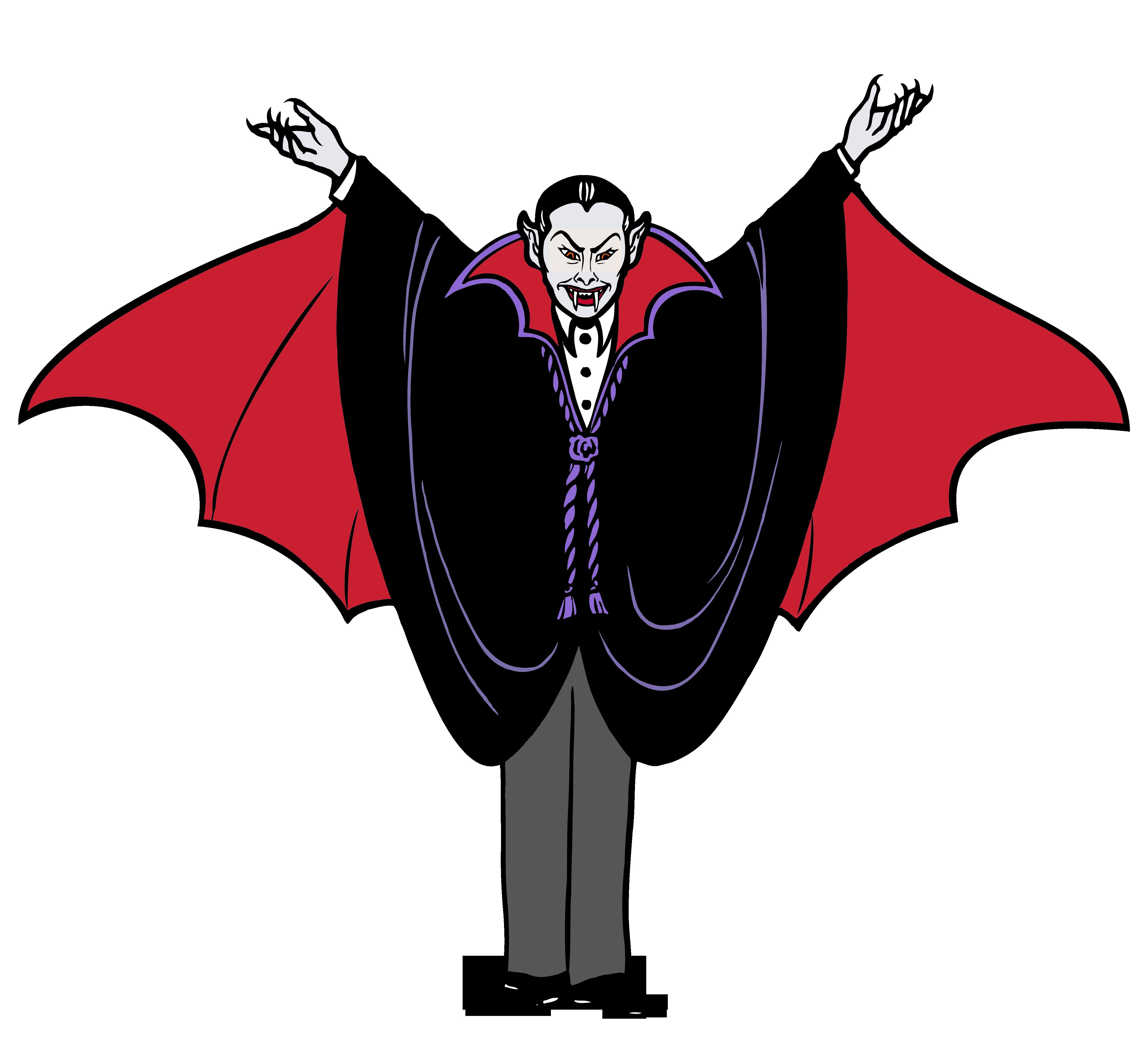 Vampire Clipart.