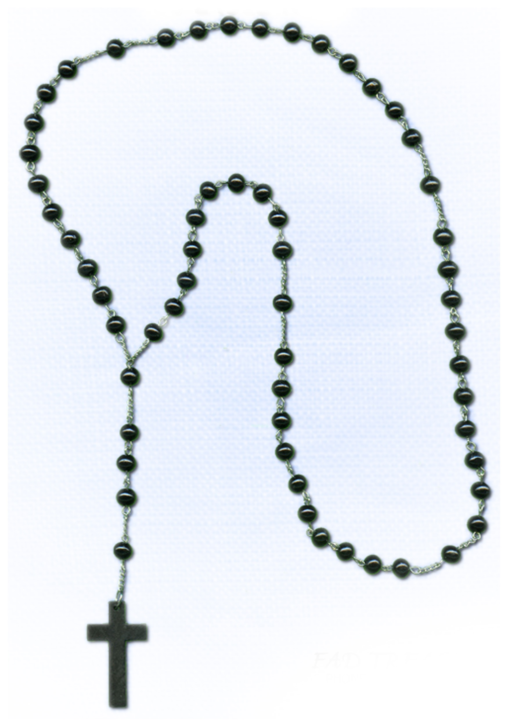Crucifix clipart rosary bead.