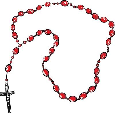 92+ Rosary Clip Art.