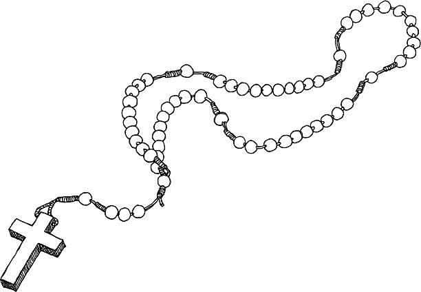 598 Rosary free clipart.