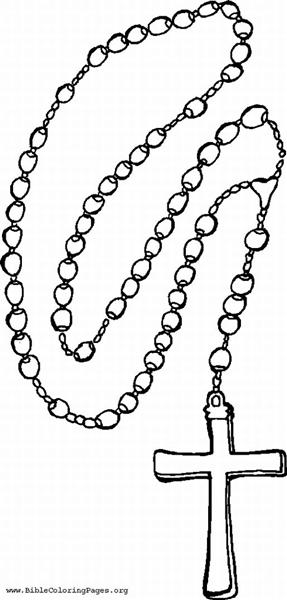 Rosary clipart 3 » Clipart Station.