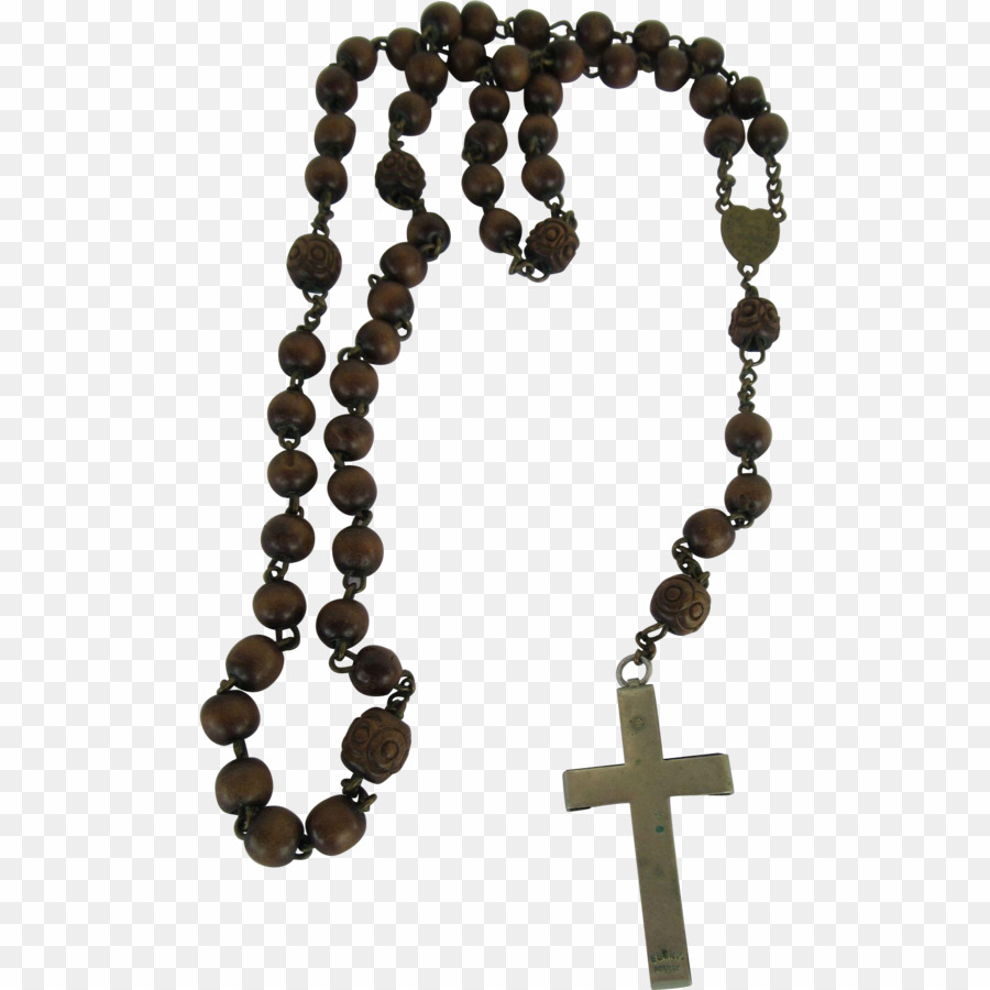 Rosary PNG Prayer Beads Clipart download.