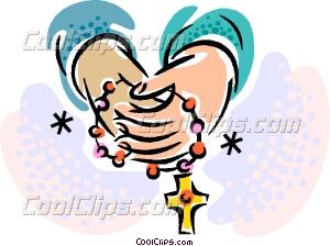 rosary Vector Clip art.