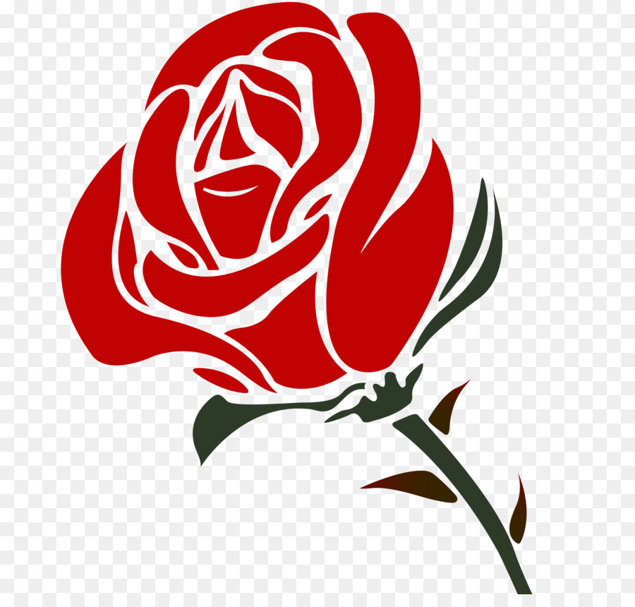 Black Rose Drawing png download.