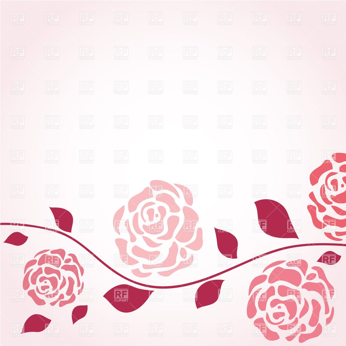 Rose background clipart » Clipart Portal.