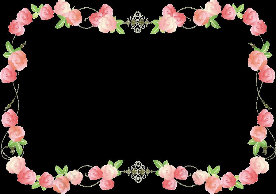 Pink Roses Background, Pink Background, Rose, Frame PNG.