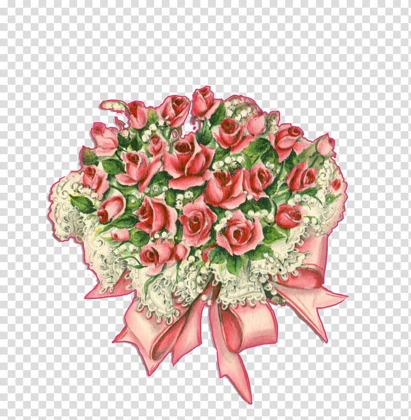 Rose bouquet, red rose bouquet illustration transparent.
