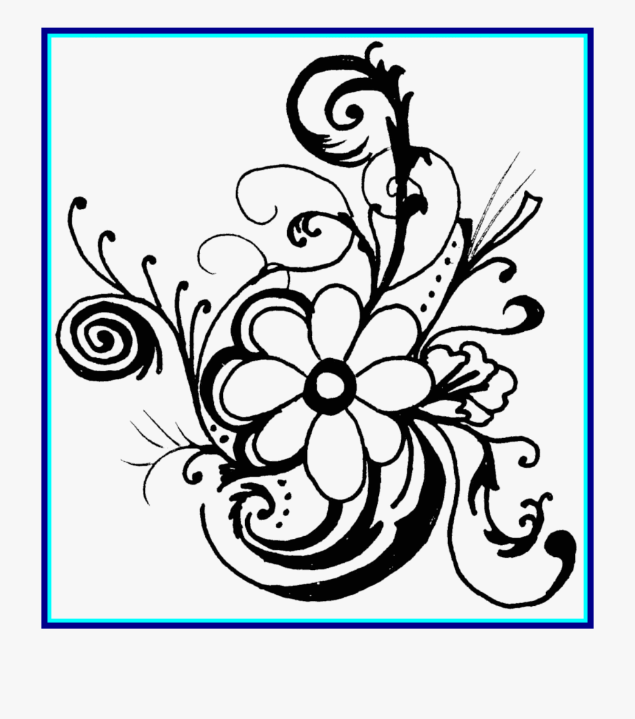 Bouquet Of Roses Bouquet Of Roses Clipart Black And.