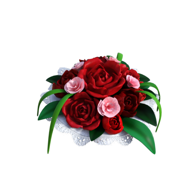 Red Rose Bouquet Png, Vector, PSD, and Clipart With.