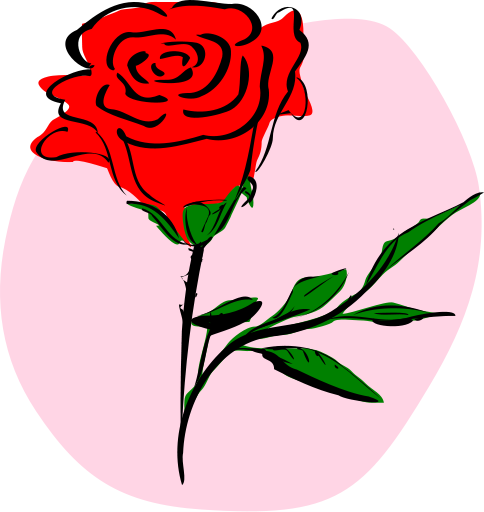 Free rose clipart public domain flower clip art images and.