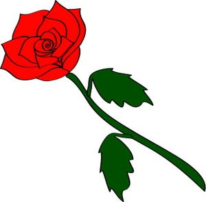 Roses red rose clip art vectors download free vector art.