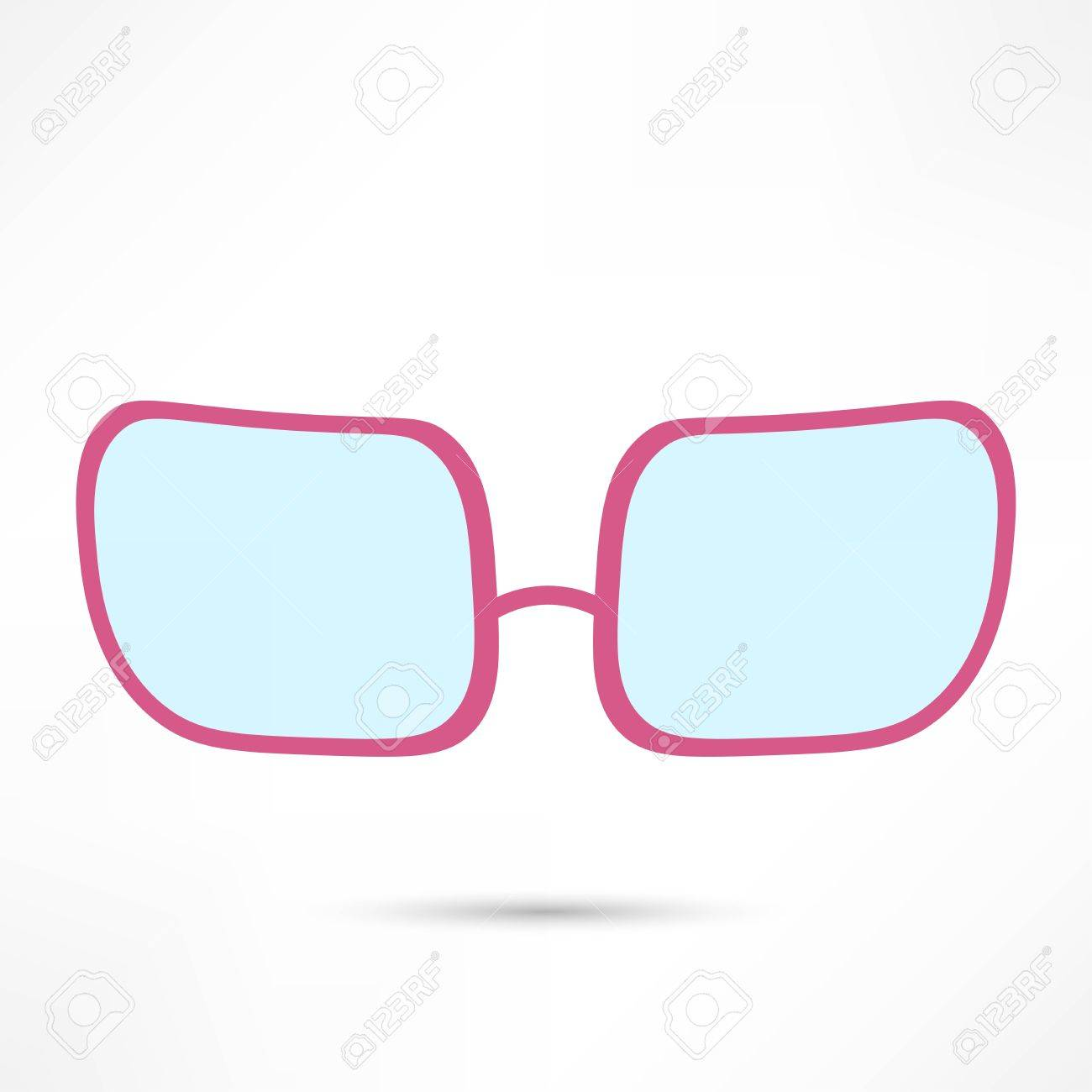 Rose Colored Glasses Clipart.