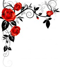 Free Rose Corner Cliparts, Download Free Clip Art, Free Clip.