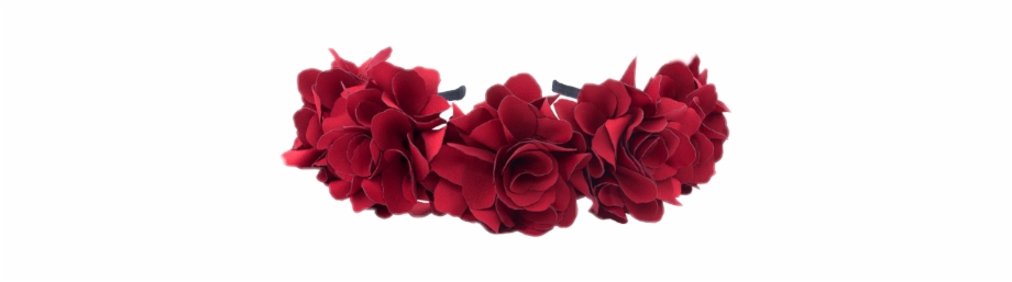 flower Crown #crown #flowers #red #roses.