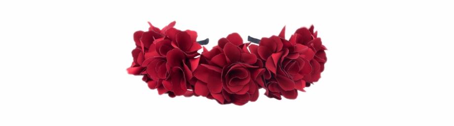 flower Crown #crown #flowers #red #roses.