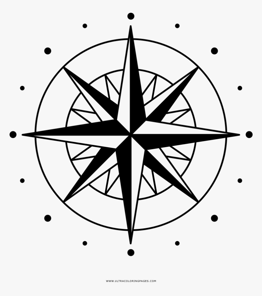 Compass Rose Wind Rose Clip Art.