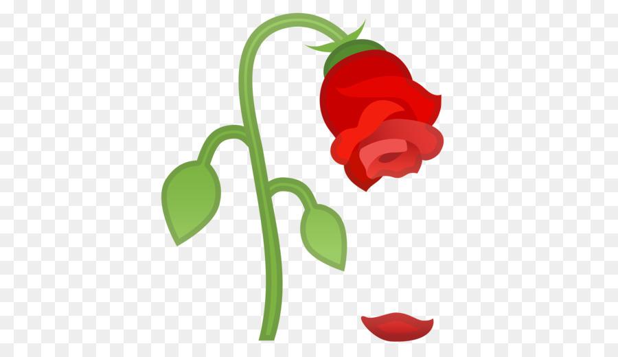 Flower Emoji clipart.