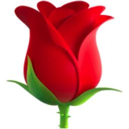 Rose Emoji (U+1F339).