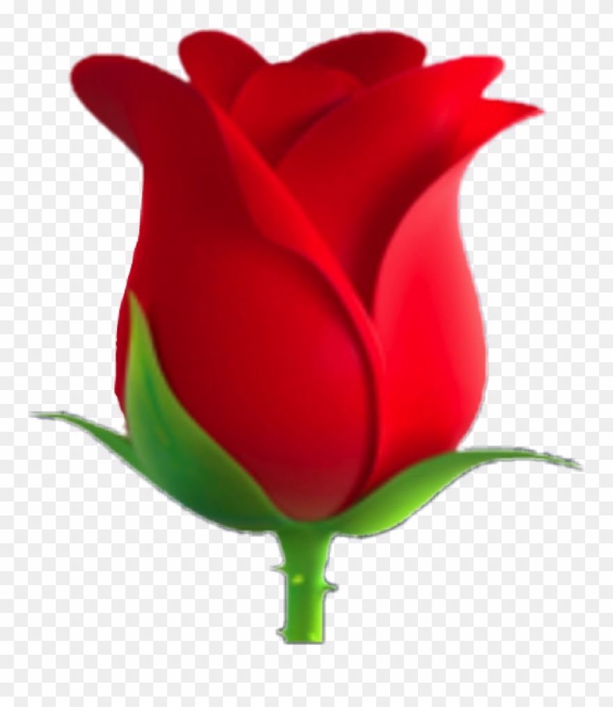 Clipart Rose Emoji.