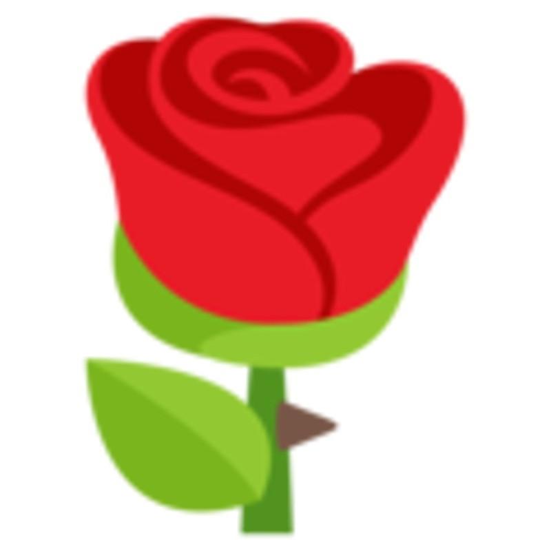 Rose Emoji.
