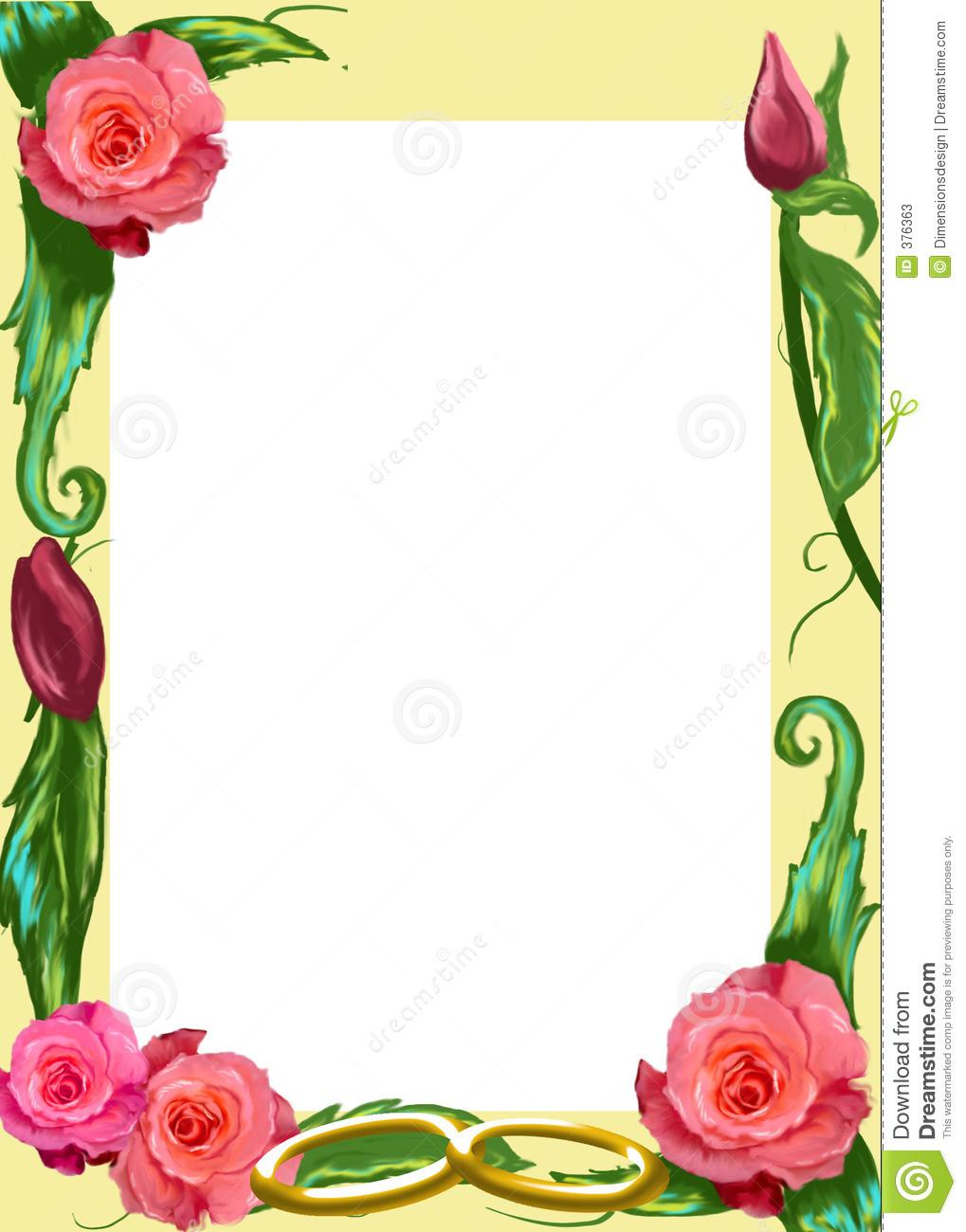 rose flower borders #19