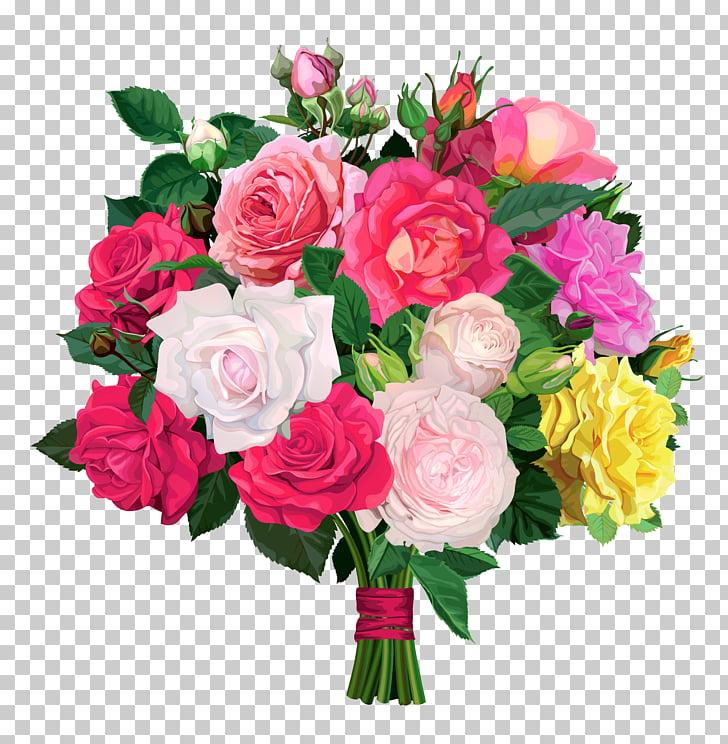Flower bouquet Rose , Rose Bouquet Transparent , pink.