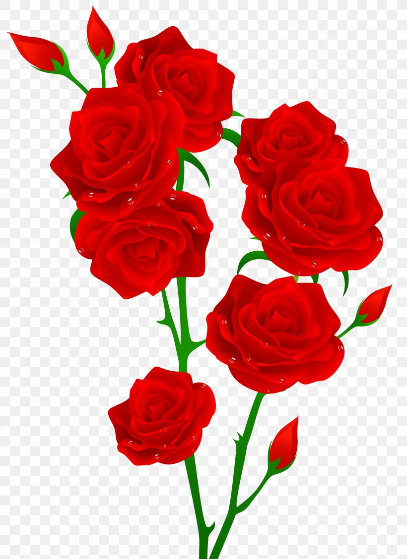 Red Rose Flower Clip Art, PNG, 5613x7726px, Rose, Artificial.