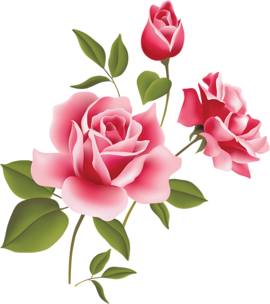 Clipart Flower Rose.