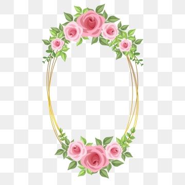 Rose Frame Png, Vector, PSD, and Clipart With Transparent.