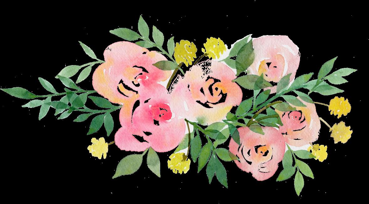 HD Rustic Flowers Png.