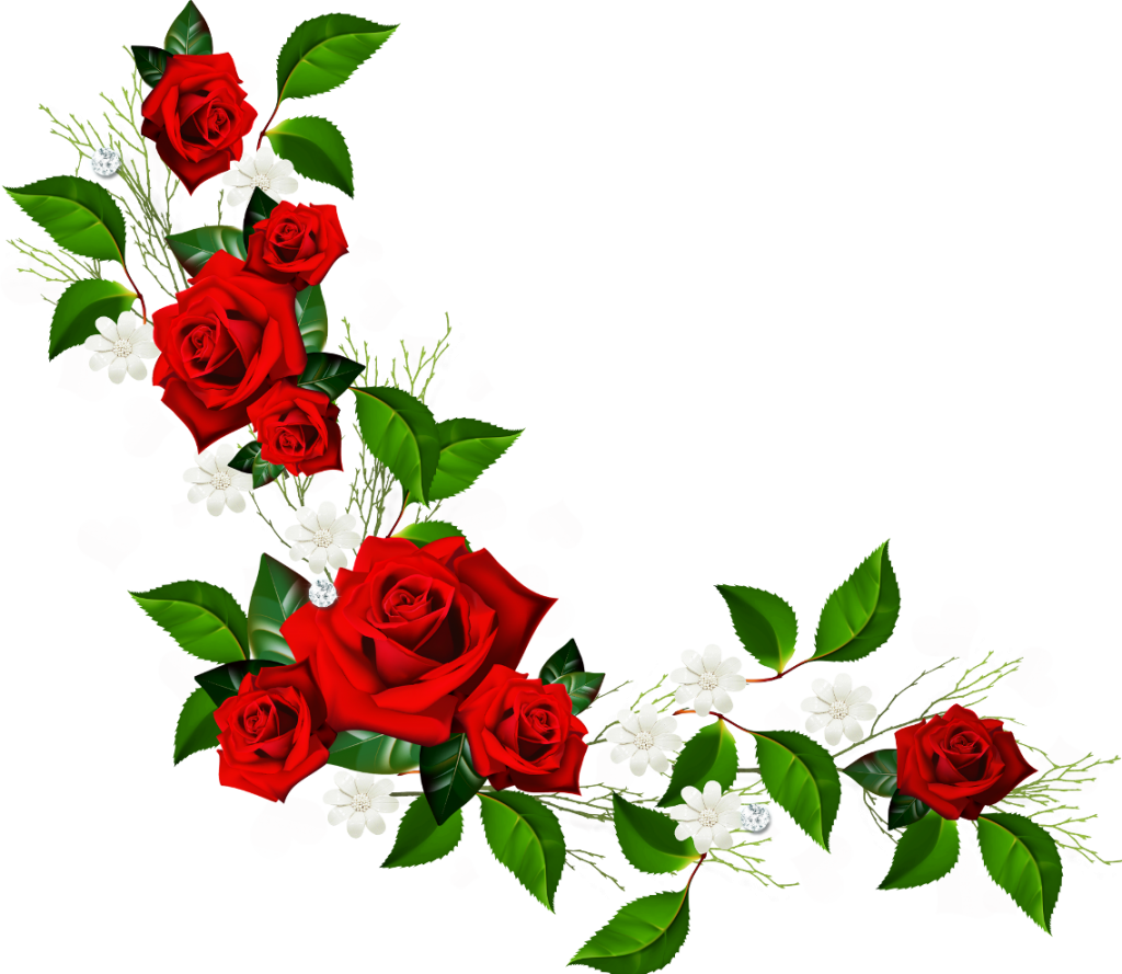 Flower Garland Clipart.