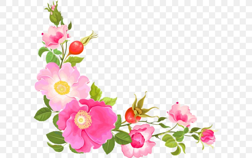Flower Floral Design Watercolor Painting Clip Art, PNG.