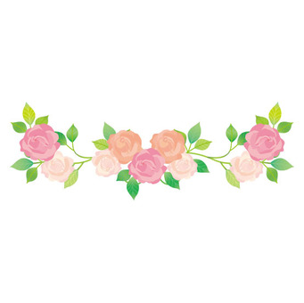 Flower Garland Line.