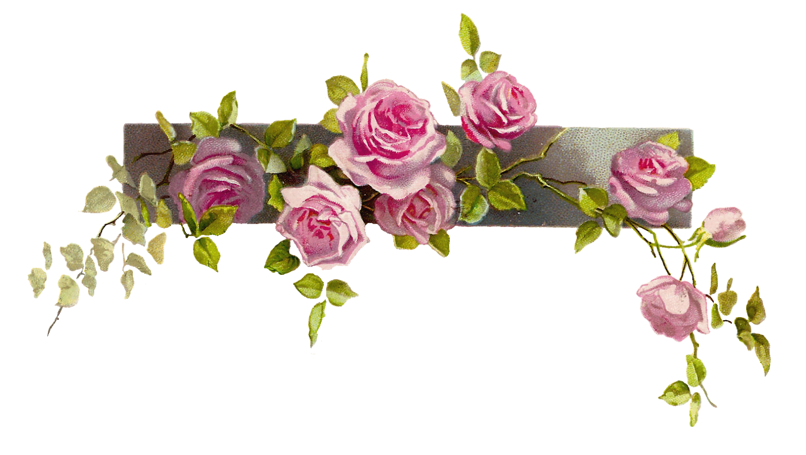 Garland clipart rose, Garland rose Transparent FREE for.